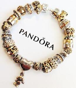 how to put a safety chain on a pandora bracelet