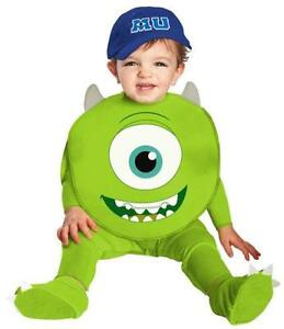 Monsters Inc Mike Costume  sc 1 st  eBay : baby sully costume  - Germanpascual.Com