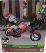 Snoopy Christmas Inflatable