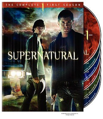Supernatural  The Complete First Season  Dvd  2006  6 Disc Set