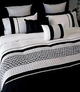 Black and White Quilt Cover