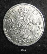 1965 Sixpence