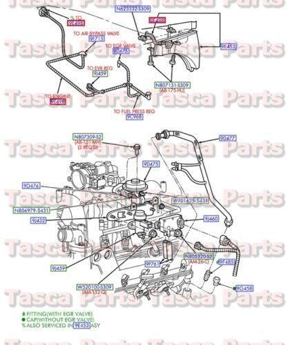 96 ford engine diagram