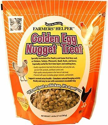 C And S Farmers Helper Golden Egg Nugget Treat