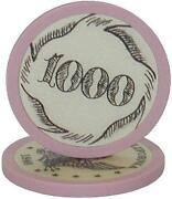 Ivory Poker Chip