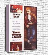 James Dean Canvas