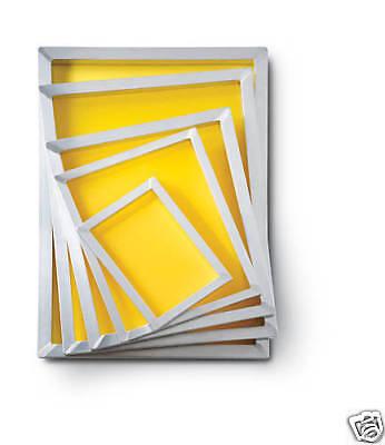 4 16 X 20 Aluminum Screen Printing Frames 160 Mesh New
