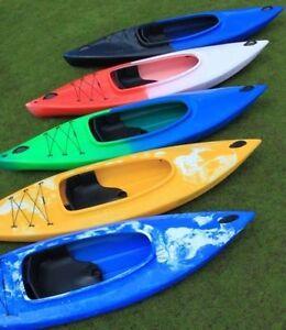 XK-Sports Easy Solo, Wanderkajak Freizeitkajak Angelboot Kanu  incl. Paddel
