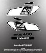 Yamaha DT Decals