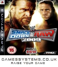 Get Smackdown Vs Raw 2009 on PS3 Pre-owned for just £0.85p!