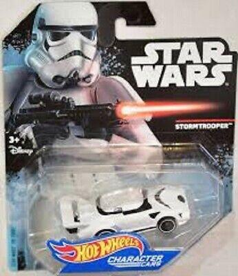 Hot Wheels Star Wars Stormtrooper character car (J39)