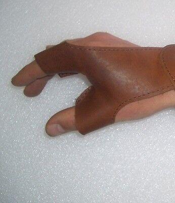 Bogenhandschuh NEUDORF Leder L RECHTE HAND hält d Bogen Bogensport Traditionell