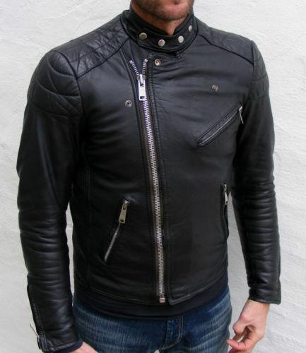 Schott Leather Jacket Cafe Racer