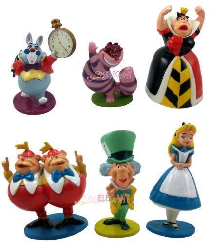 alice in wonderland cake figures