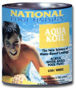 Aqua Kote Acrylic Water Based Swimming Pool Paint