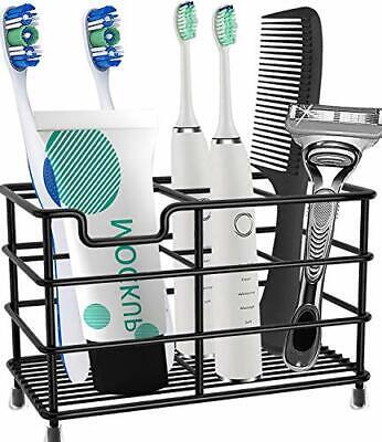 Toothbrush Holder Stainless Steel Rustproof Bathroom Electric Toothbrush Hold...
