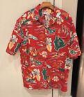 Hawaiian Red Shirts for Men