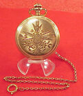 Full Hunter Gold Plated Antique Pocket Watches 16 Pocket Watch