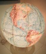 Lighted World Globe