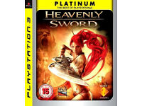 Heavenly Sword Platinum Playstation 3 / PS3 Game