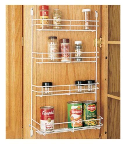 door mount spice rack ebay. Black Bedroom Furniture Sets. Home Design Ideas