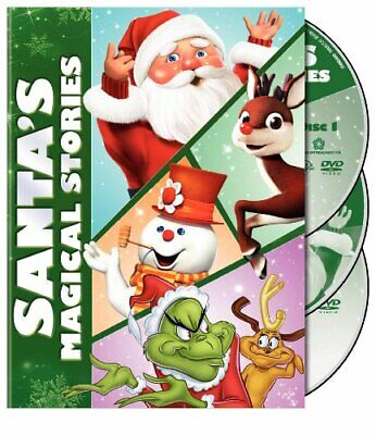 as / Year Without a Santa Claus / Jack Frost [DVD] NEW! (Santa Grinch)