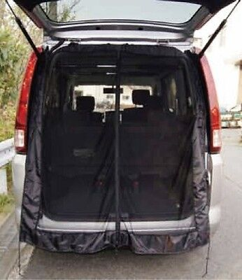Anti Insect Mosquito Bug Car Window Net Rear Back Door Mesh Outdoor Camping