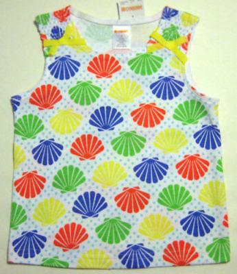 New GYMBOREE Girls Size 3 Multi-Color Sleeveless Round Neck Tops Blouse