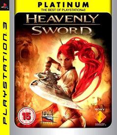 Playstation 3 / PS3 Game – Heavenly Sword Platinum