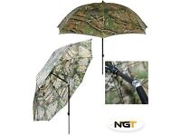 """45""""NGT CAMO BROLLY.BRANDNEW..ONLY 2 LEFT."""