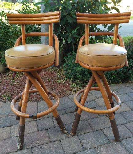 mid century bar stools