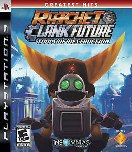 PS3 RATCHET AND CLANK FUTURE TOOLS OF DESTRUCTION