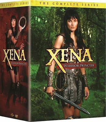 XENA WARRIOR PRINCESS:COMPLETE SERIES(30-DVD Set,Seasons 1-6)NEW