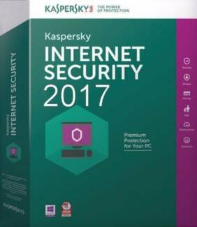 KASPERSKY INTERNET SECURITY 2018 -2017 1 PC / 1 YEAR