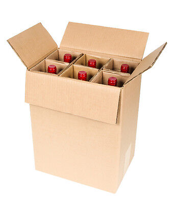 6 Bottle Wine Shipping Box Spiritedshipper Com Boxes Are Ups   Fedex Approved
