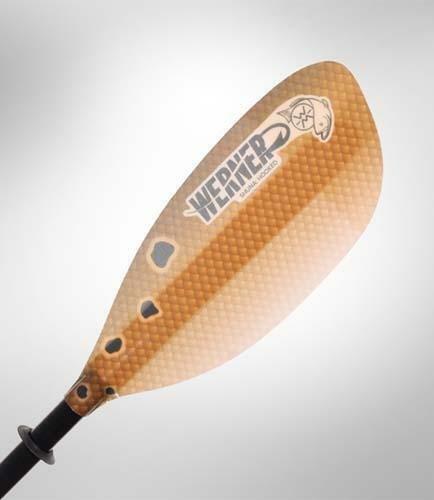Werner Shuna Hooked 2 pc (Carbon Shaft/FG Blade) Redfish