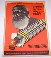 Pubblicità Farmaceutica Viscodiurina Igm 1940 Ca -  - ebay.it