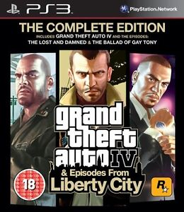 Grand Theft Auto IV: Complete Edition (PS3) BRAND NEW SEALED