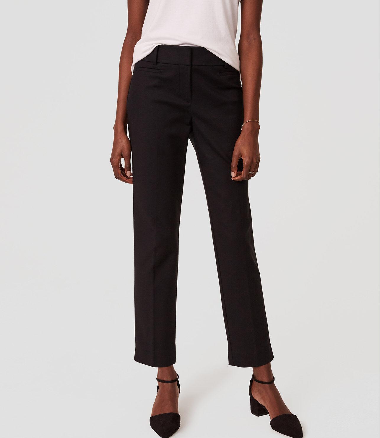 Petite lined career pants hot hot hot