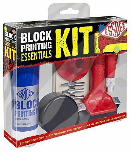 Essdee Block Printing Essentials Kit Relief Essential Tools Carving
