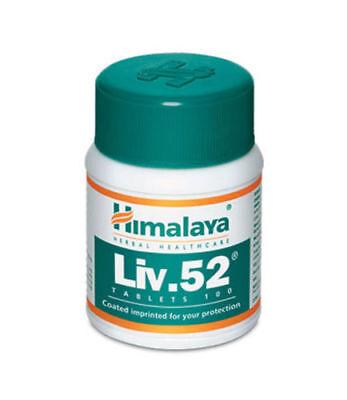 3 Pk 100% Natural Himalaya Healthcare Liv.52 100 Tabs US Shipped FREE SHIPPING