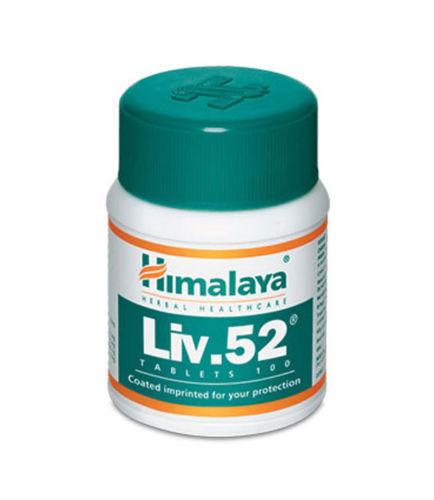 1 Pk 100% Natural Himalaya Healthcare Liv.52 100 Tabs US Shipped FREE SHIPPING