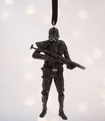 IMPERIAL DEATH Star Wars Rogue One Trooper Sketchbook Ornament 2016 Disney NWT