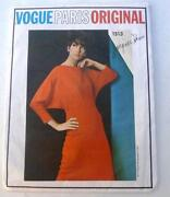 Vintage Vogue Designer Patterns