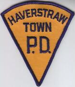 Old Police Patches NY