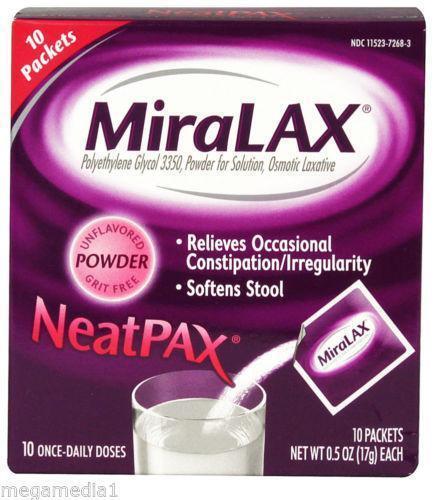 Miralax Over The Counter Medicine Ebay