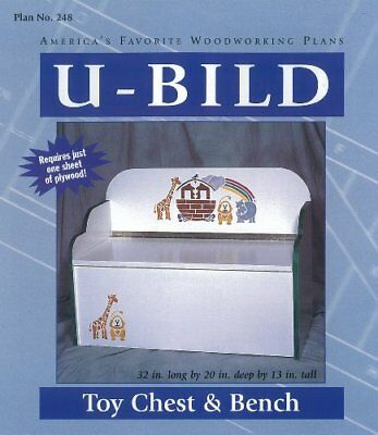 NEW U-Bild 248 Toy Chest and Bench Project Plan FREE2DAYSHIP TAXFREE