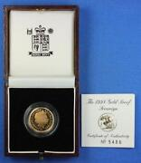 Queen Elizabeth Gold Coin