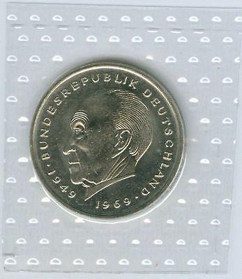 BRD  2 DM Konrad Adenauer 1974 DFGJ - 1987 DFGJ  stempelglanz oBH  (56 Münzen!)