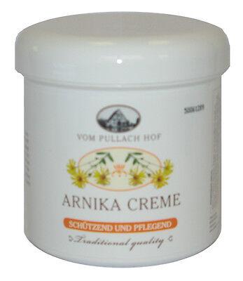 12 x 250ml Arnika Creme Pflegecreme Arnikacreme traditional Quality Pullach Hof